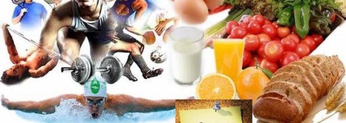 Qualche consiglio sull'alimentazione di chi fa sport e qualche altra curioisità